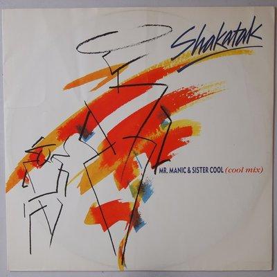 "Shakatak - Mr. Manic & Sister Cool - 12"""