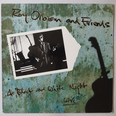 Roy Orbison & Friends - A black and white night live - LP