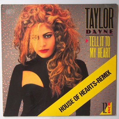 Taylor Dayne - Tell it to my heart - 12""