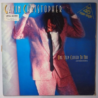 Gavin Christopher  - One step closer to you - 12""