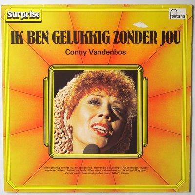 Conny Vandenbos - Ik ben gelukkig zonder jou - LP