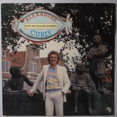 Alexander Curly - Zilte zee en zure bommen - LP