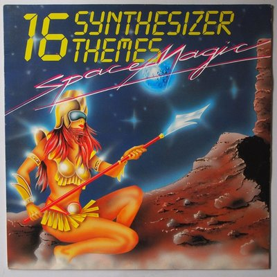 Space Magic - 16 Synthesizer Themes  - LP