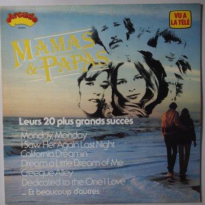 Mamas & Papas - Leurs 20 plus grands succès - LP