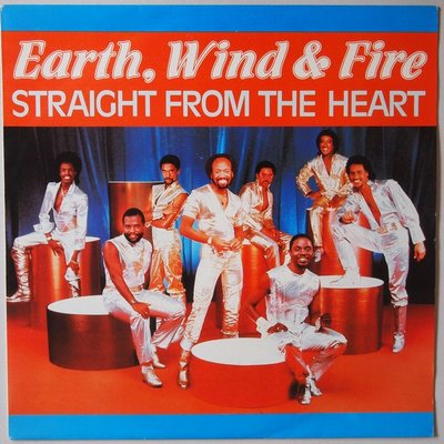 Earth, Wind & Fire - Straight from the heart - Single