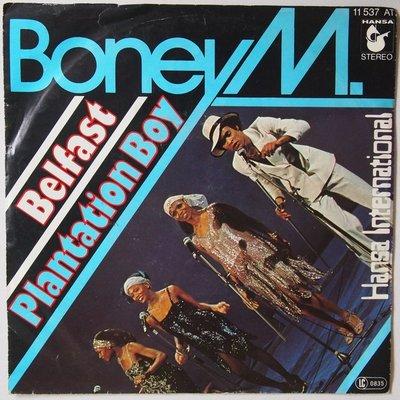 Boney M - Belfast - Single