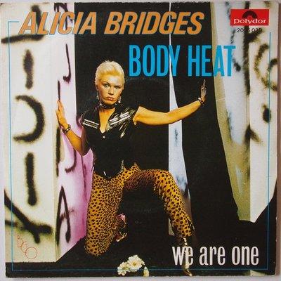 Alicia Bridges - Body heat - Single