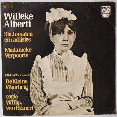 Willeke Alberti - Sla, tomaten en radijsjes - Single