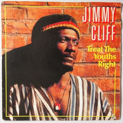 Jimmy Cliff - Treat the youths right - Single