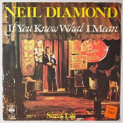 Neil Diamond - If you know what I mean - Single