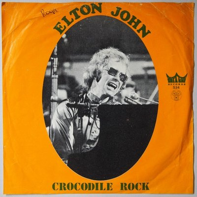 Elton John - Crocodile rock - Single