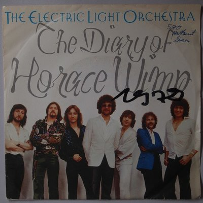 Electric Light Orchestra (ELO) - The diary of Horace Wimp - Single