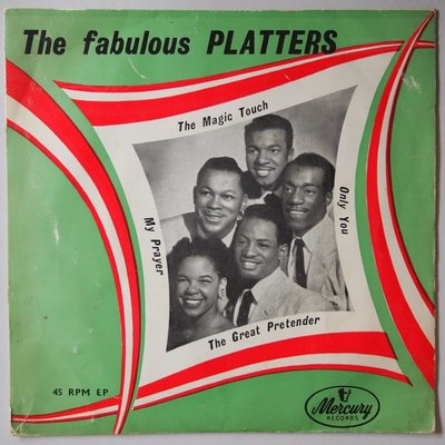 Platters, The - The great pretender / Only you / The magic touch / My prayer - Single