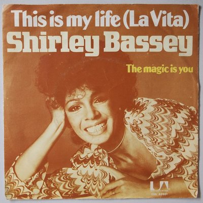 Shirley Bassey - This is my life - Single
