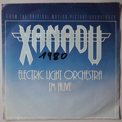 Electric Light Orchestra (ELO) - I'm alive - Single