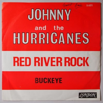 Johnny & The Hurricanes - Red river rock - Single