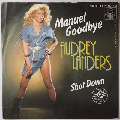 Audrey Landers - Manuel goodbye - Single