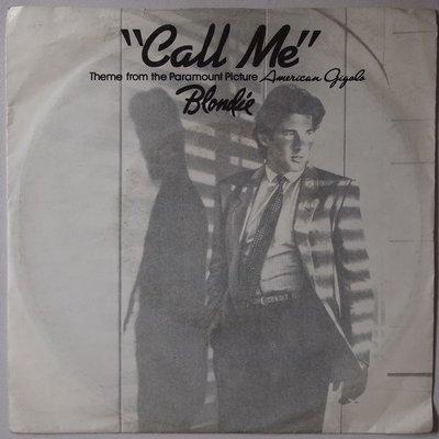 Blondie - Call me - Single