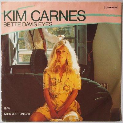 Kim Carnes - Bette Davis eyes - Single