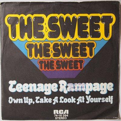 Sweet, The - Teenage rampage - Single